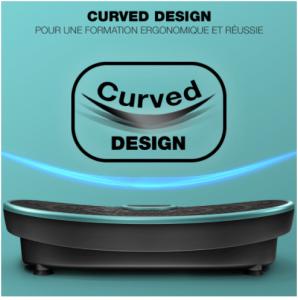 design-incurvé-Sportstech-VP250-Plateforme-Vibrante
