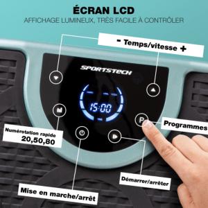 panneau-de-controle-Sportstech-VP250-Plateforme-Vibrante