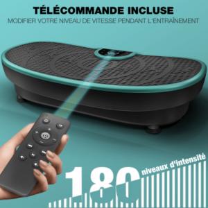 télécommande-Sportstech-VP250-Plateforme-Vibrante