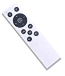 télécommande-plateforme-vibrante-ise-fit-RIGA SY-328-BK